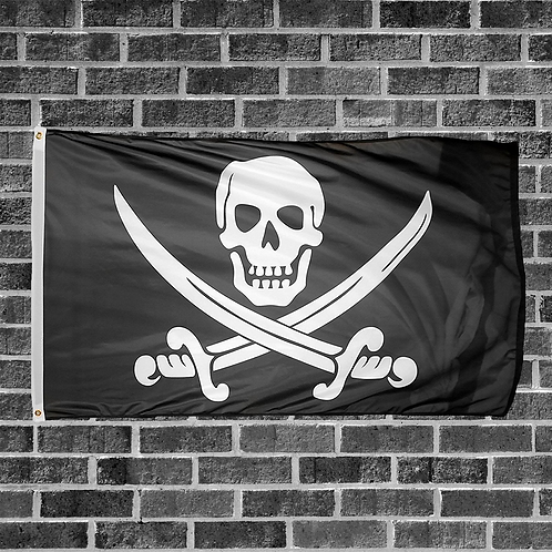 Classic Pirate Flag 3ft x 5ft