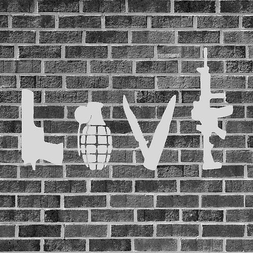 Love Weapon Sticker