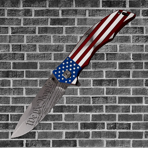 We The People Folding Knife