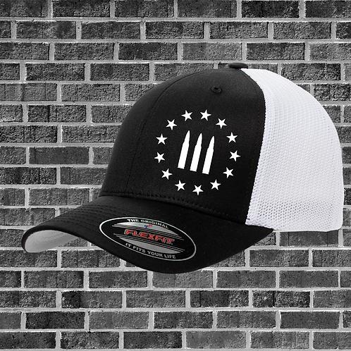 Threeper Bullet Flexfit Hat