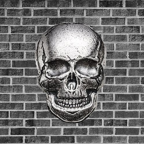 2 Ounce Silver Skull
