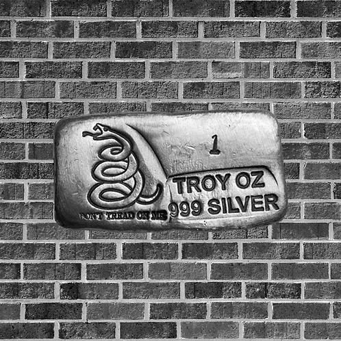 1 Ounce Silver DTOM Bar