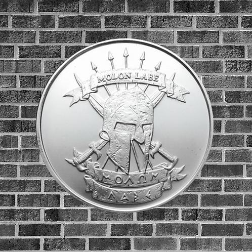 1 Ounce Silver Molon Labe/Come and Take It Coin