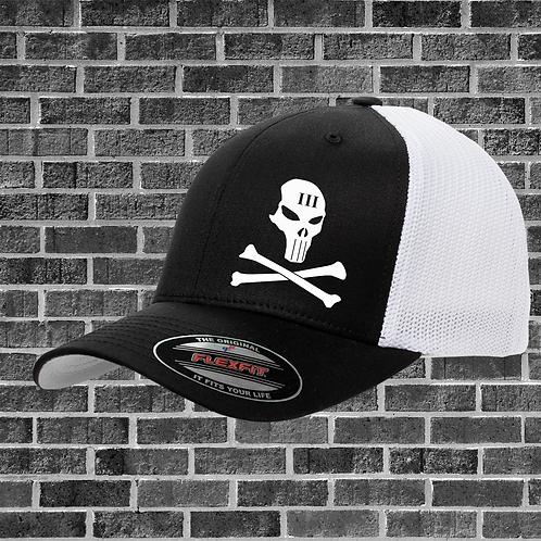 Skull and Crossbones Flexfit Hat