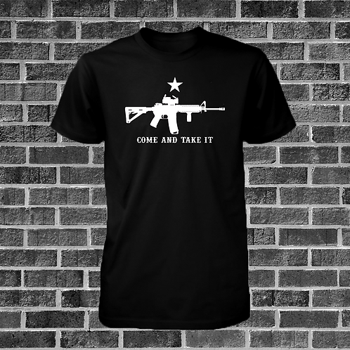 Come And Take It AR-15 T-Shirt