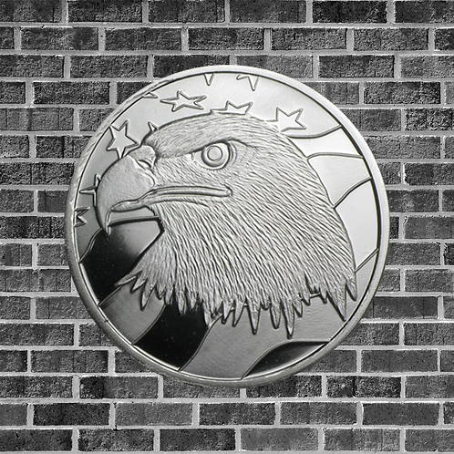 1 Ounce Silver Pledge of Allegiance Coin