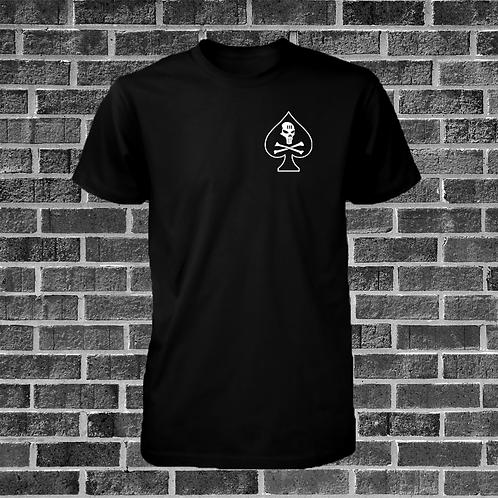 Black Skull Spade T-Shirt