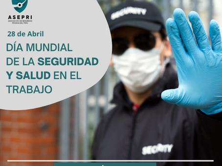 Día Mundial de la Seguridad y Salud en el Trabajo.