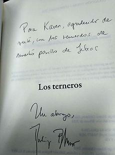 Firma de Los Terneros, Rodrigo Blanco Calderón