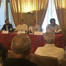 Rodrigo Blanco Calderón, Juan Carlos Méndez Guédez, Juan Malpartida y Juan Carlos Chirinos.Casa de América, homenae a José Balza