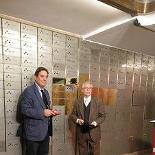 Luis García Montero y José Balza
