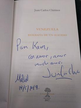 Venezuela, biografía de un suicido.