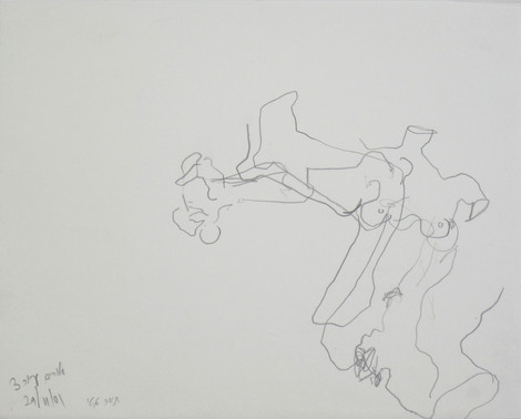 003_Tamar_Getter_IRIS_2001_blind_pencil.