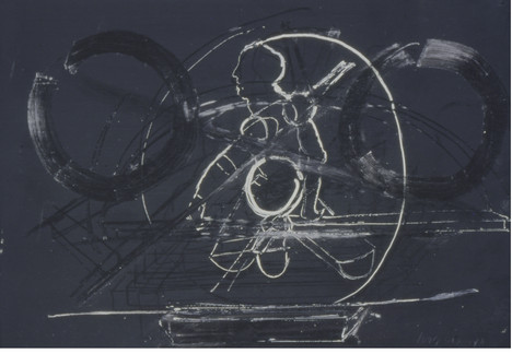 Tamar Getter oil-tempera on paper 1993 1