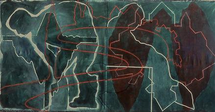 1981-2  Israel Museum work - 150 x 350 c