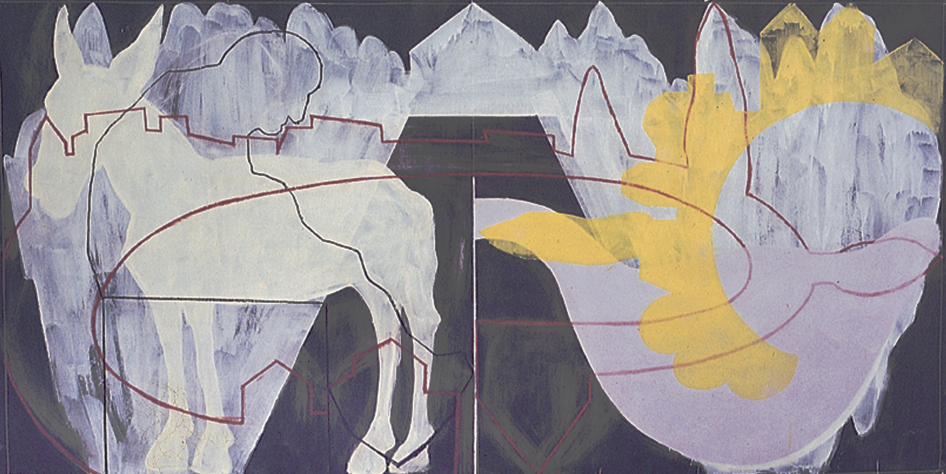 Tamar Getter WHITE ALLEY and DONKEY