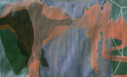 Tamar Getter 1981 LANDSCAPES WITH A CORPSE detail 2
