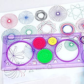 1PC-Kids-Children-Spirograph-Geometric-R