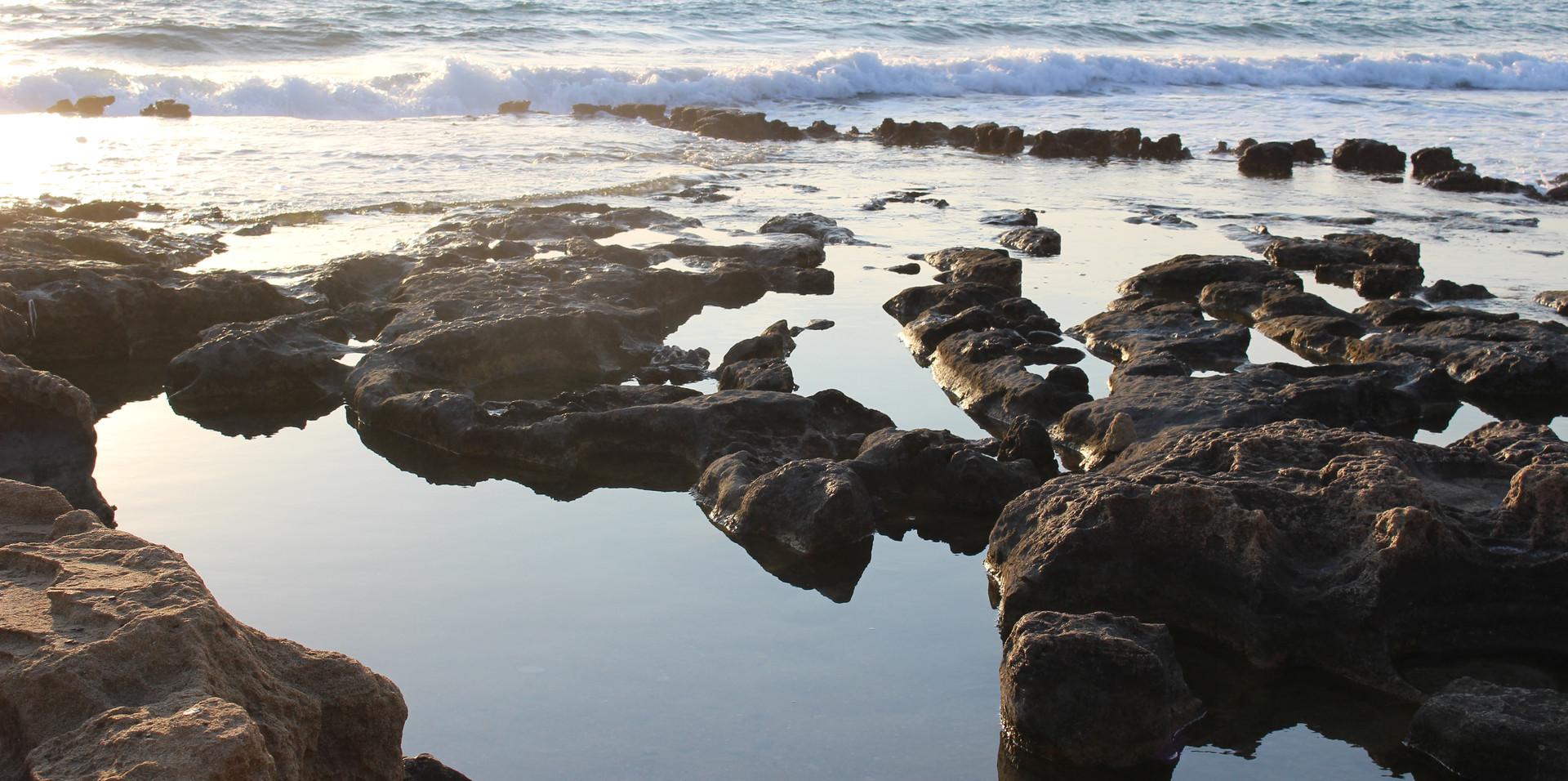Tide tubs in Cyprus