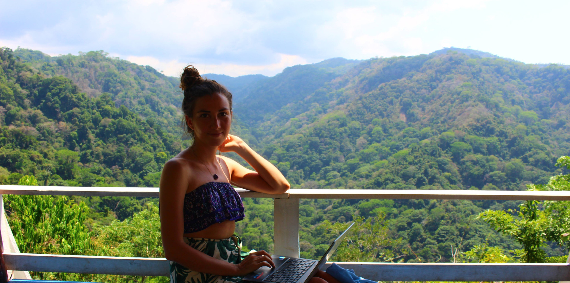 Johana´s office in the jungle