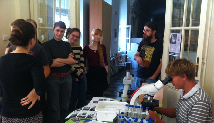 protist demonstration at the faculty