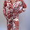 Thumbnail: Multi colour Collar Jumpsuit with headscarf