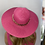Thumbnail: Cerise Pink Fedora Summer Hat with Gold Chain - One size adjustable