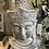 Thumbnail: Grey Large Buddha Bust