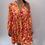 Thumbnail: Orange and Pink Smock Dress