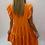 Thumbnail: Orange Smock Dress