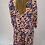 Thumbnail: Animal Print V Neck Maxi Dress