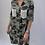 Thumbnail: Khaki Sequin Pocket Camouflage print dress