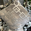 Thumbnail: Geometric Silver and Grey Cushion