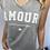 Thumbnail: AMOUR Print T- Shirt - Various colours