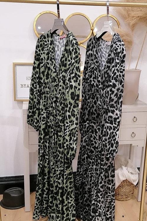 Animal Print Maxi Dress - 3 Colours