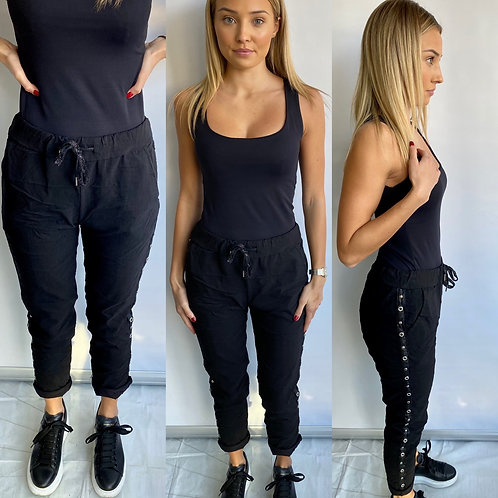 Black Bling Magic Trouser