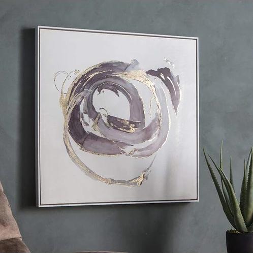 Opal Abstract Framed Art