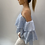 Thumbnail: Off the shoulder Ruffle Top Blue