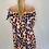 Thumbnail: Off the Shoulder  Animal Print Bardot Dress - 3 colours