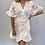 Thumbnail: White Designer Inspired Wrap Dress
