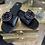 Thumbnail: Black Designer Inspired C Sandal