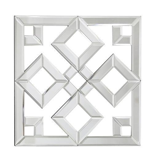 40 cm Geometric Wall Art Mirror