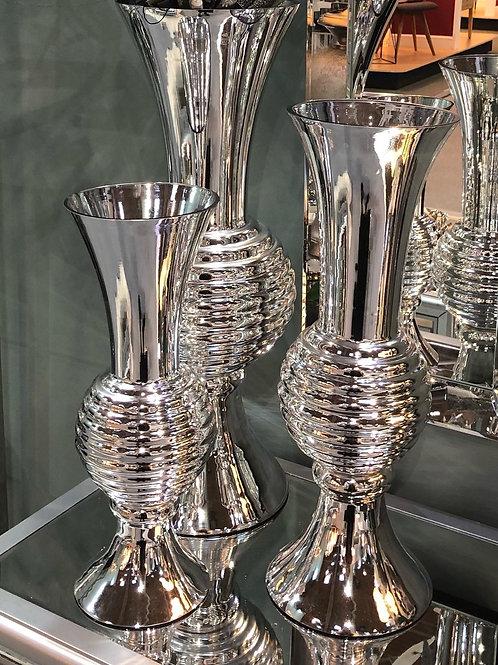 Mirrored Glamour Bubble Vase - 3 sizes