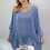 Thumbnail: Frill Linen Oversize Tops - One Size - Many colours