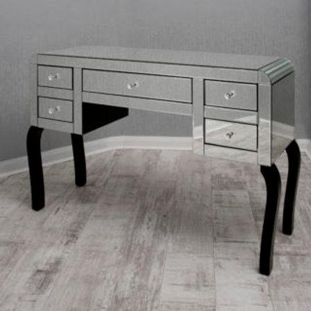 5 Drawer Mirror Dressing Table Set
