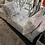 Thumbnail: Silver Crushed Velvet Ottoman with Storage