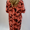Thumbnail: Coral Sequin Pocket Camouflage print dress
