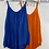 Thumbnail: Silk Style Strap Layered Top - Many Colours