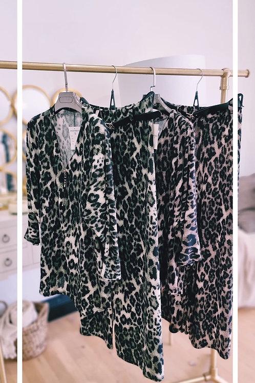 Stunning Animal Print2 Piece Trouser Set - 2 colours