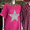 Thumbnail: Linen Star Bling Top - mixed colours